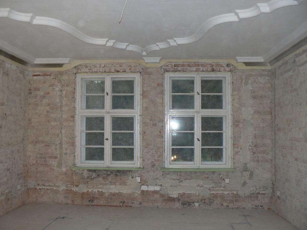Tynkowanie maszynowe kamienicy Gdańsk 13