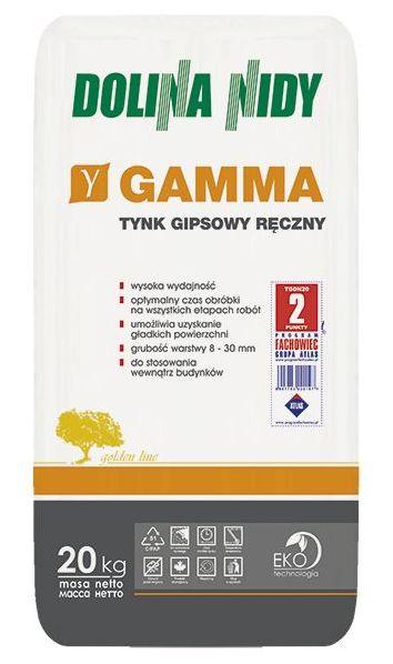 Tynk gipsowy Gamma